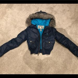 Abercrombie Ski Jacket with fur hood